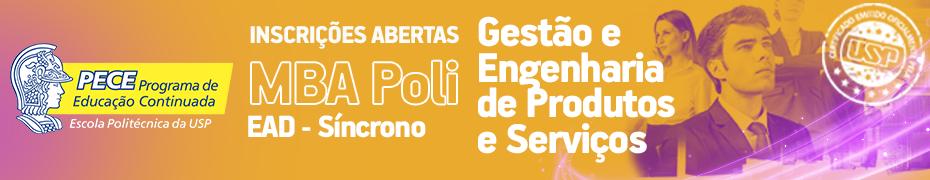 PECE/Poli - Gestão e Engenharia de Produtos e Serviços