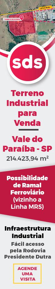 Terreno Industrial - Vale do Paraíba - SP