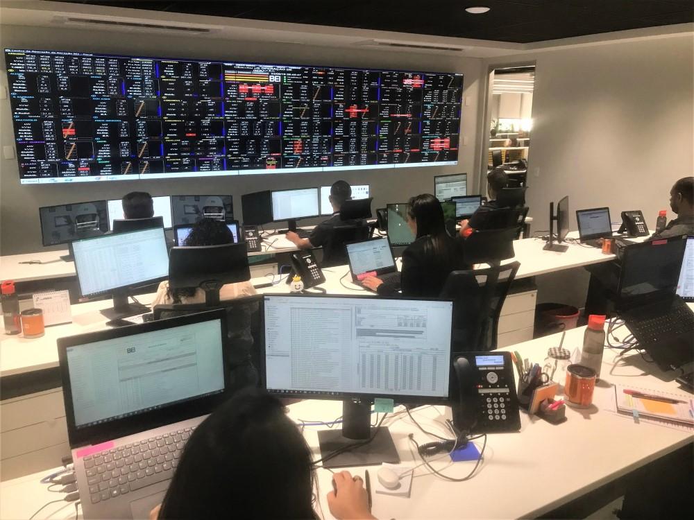 COG da BEI controla 52 usinas remotamente