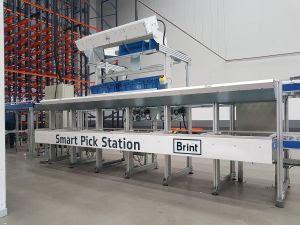 Brint Intralogistics lança estação de separação de pedidos