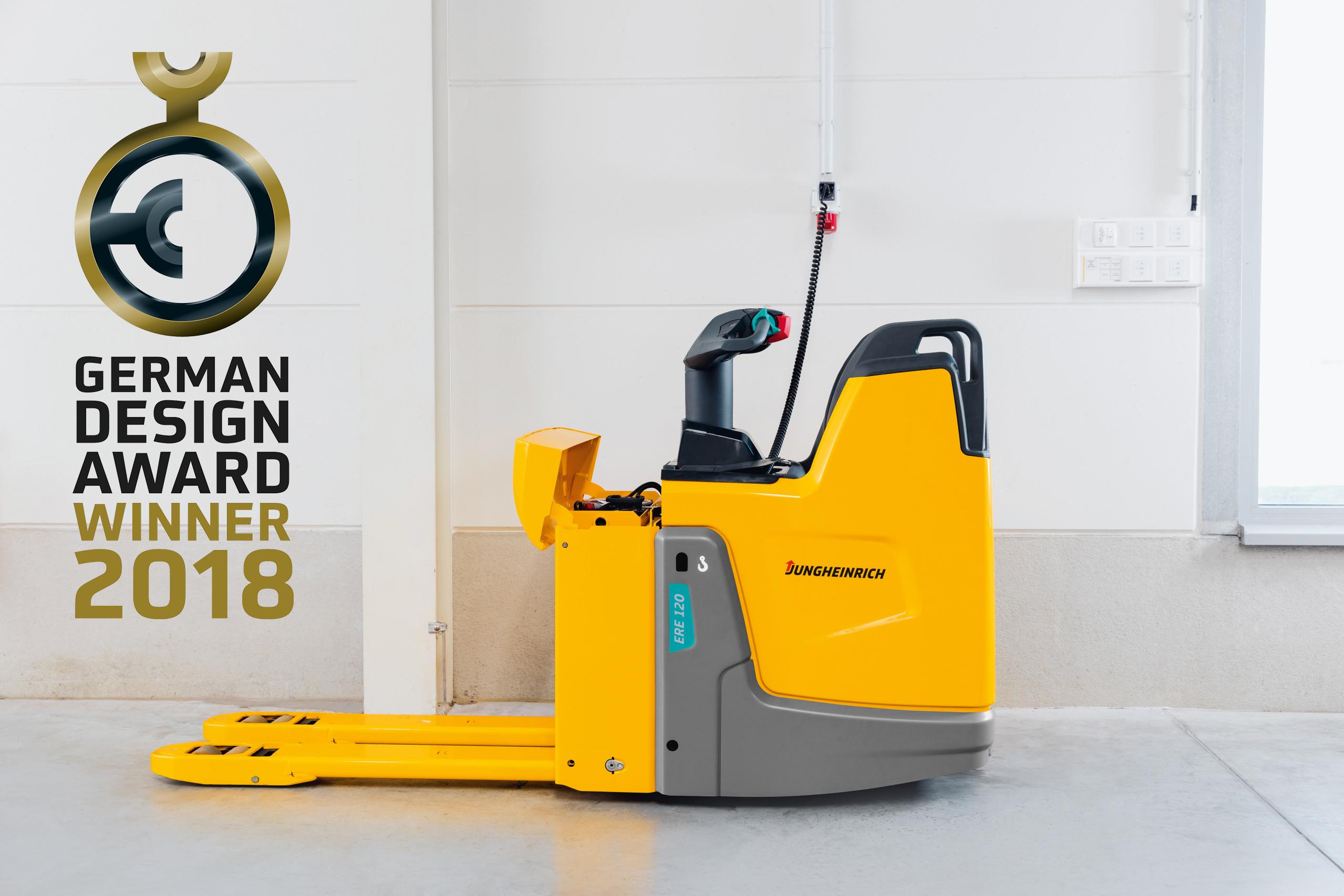 Jungheinrich é vencedora de dois prêmios no German Design Awards