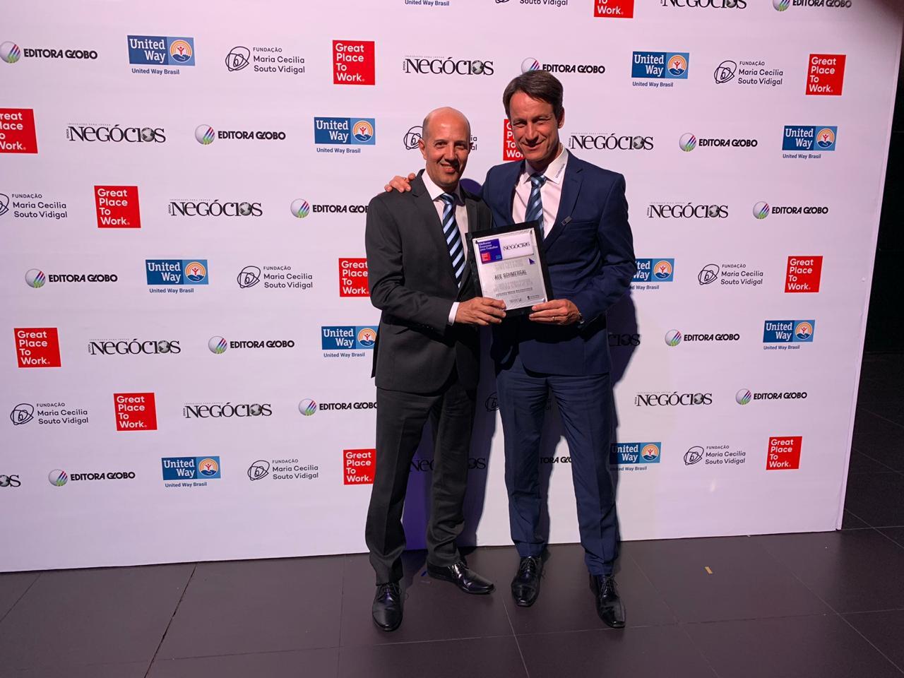 Schmersal conquista 4º lugar entre as melhores empresas para trabalhar no Brasil