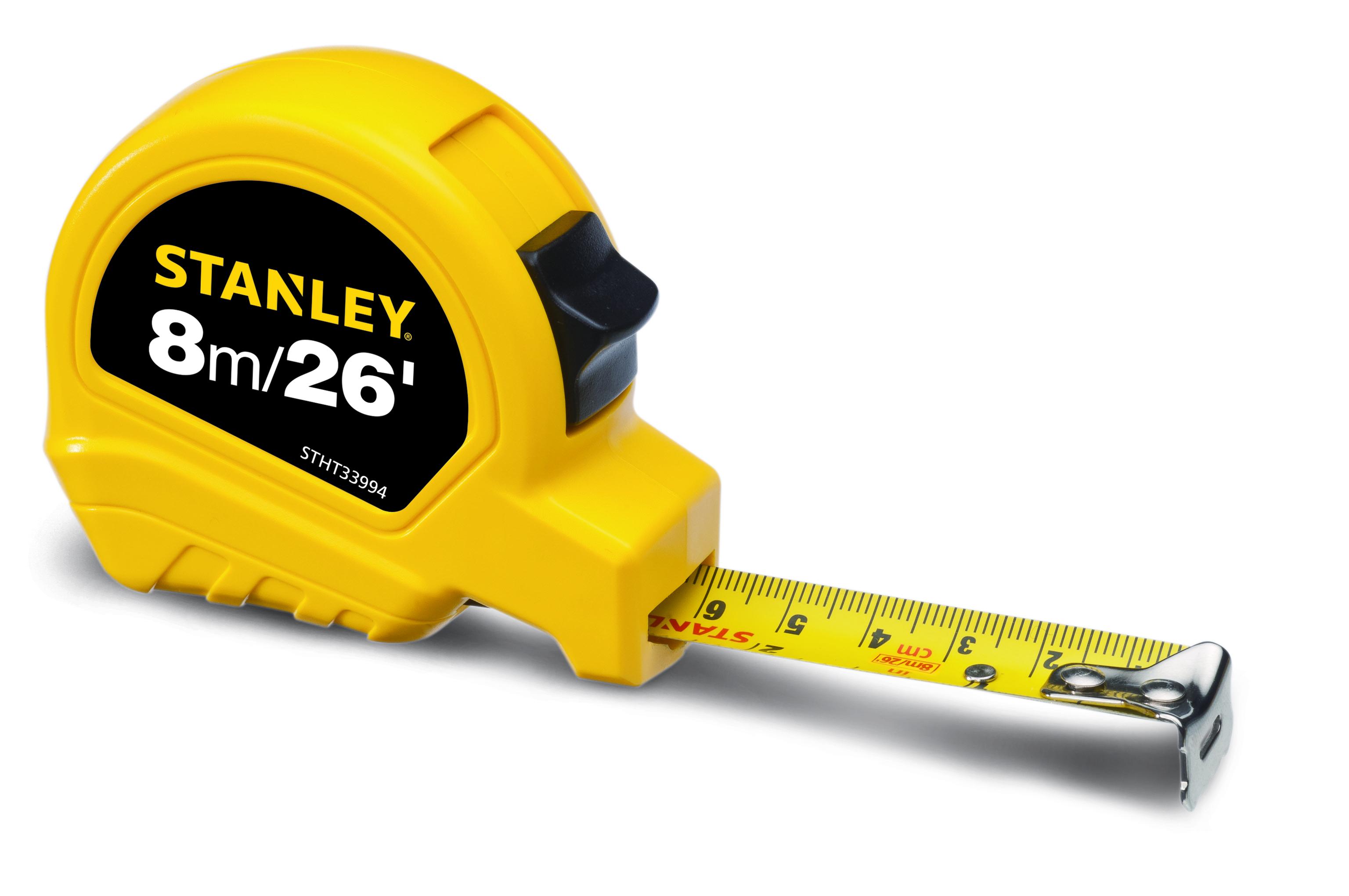 STANLEY lança trenas com design ergonômico