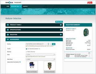 ABB lança ferramenta de seleção de produtos Dodge®