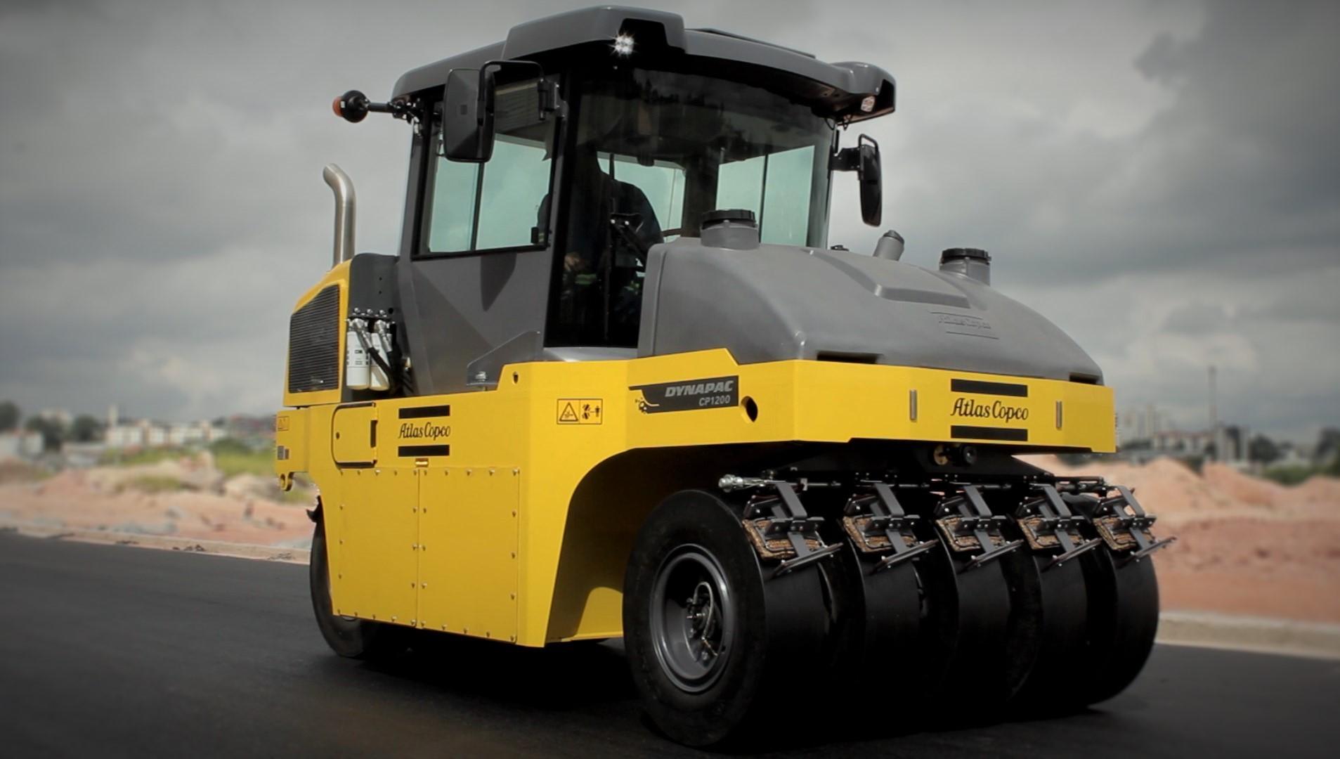Novo CP 1200 da Atlas Copco proporciona redução no impacto ambiental na construção de estradas