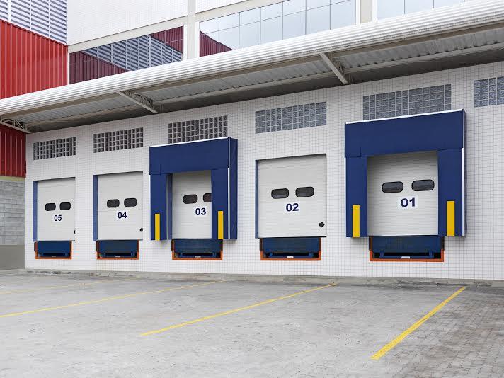 Portas Seccionais com isolamento térmico que não propaga o fogo