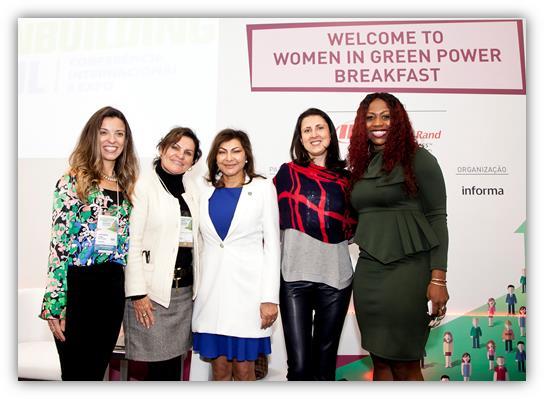 Ingersoll Rand® incentiva o poder da Mulher em iniciativas sustentáveis com o Women in Green Breakfast