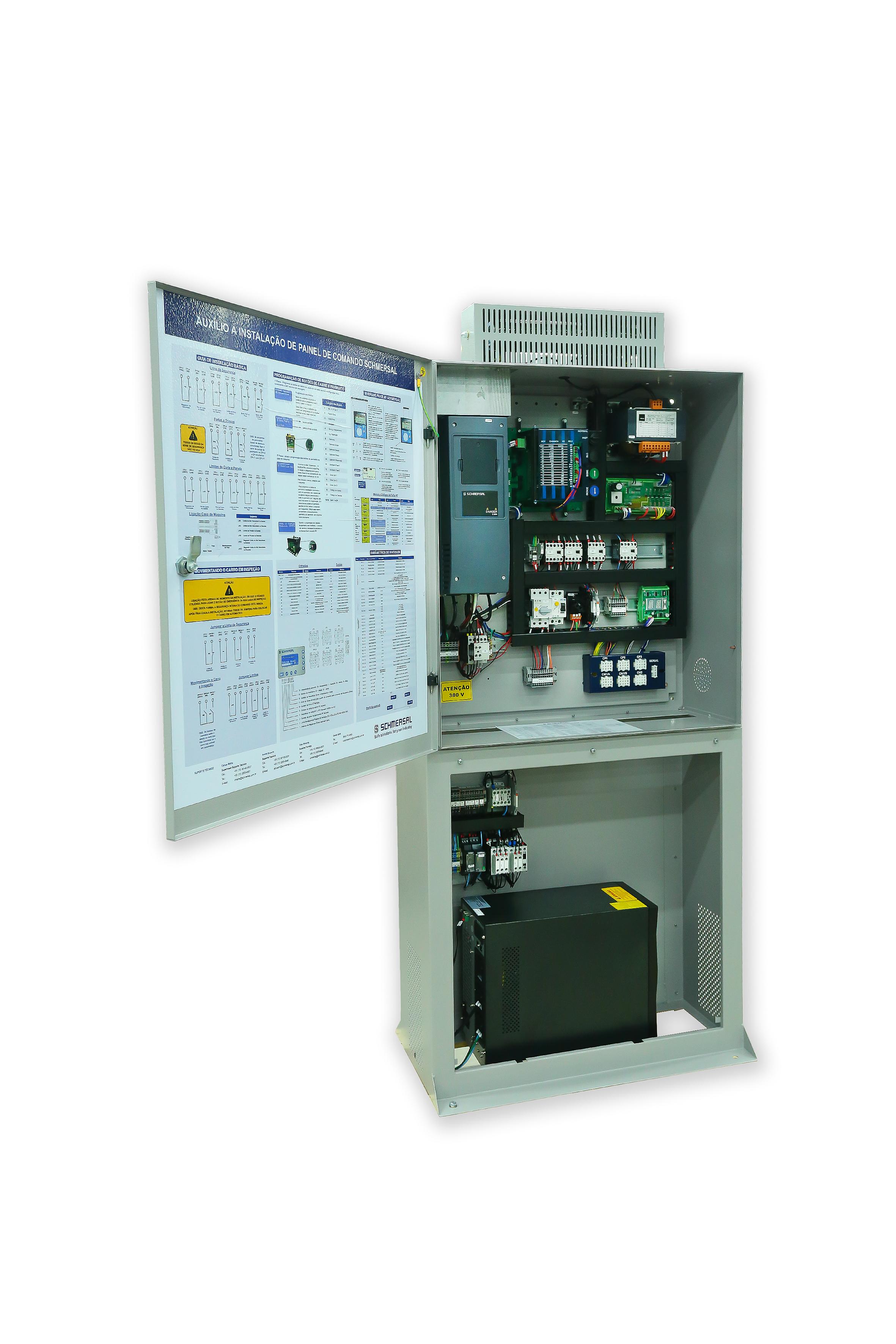 Schmersal lança Angel, Sistema de Resgate para Elevadores com bateria estática