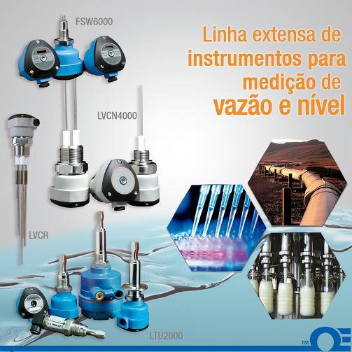 OMEGA™ lança série de instrumentos para medição de nível e vazão