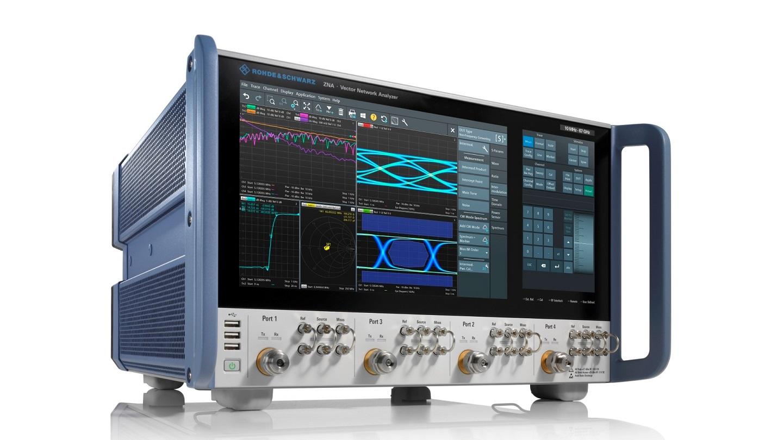 A Rohde & Schwarz apresenta os novos analisadores de rede vetorial R&S ZNA operando até 67 GHz