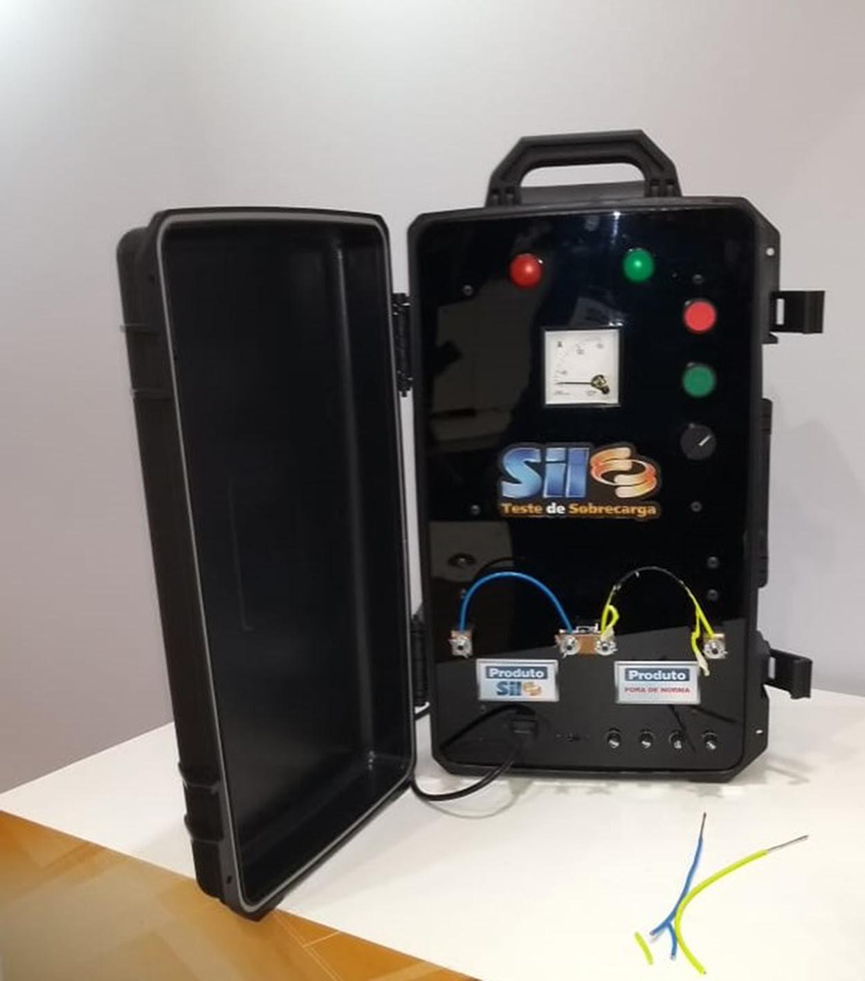 SIL cria máquina de teste de sobrecarga