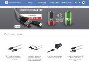 General Electric Acessórios de Consumo lança loja virtual