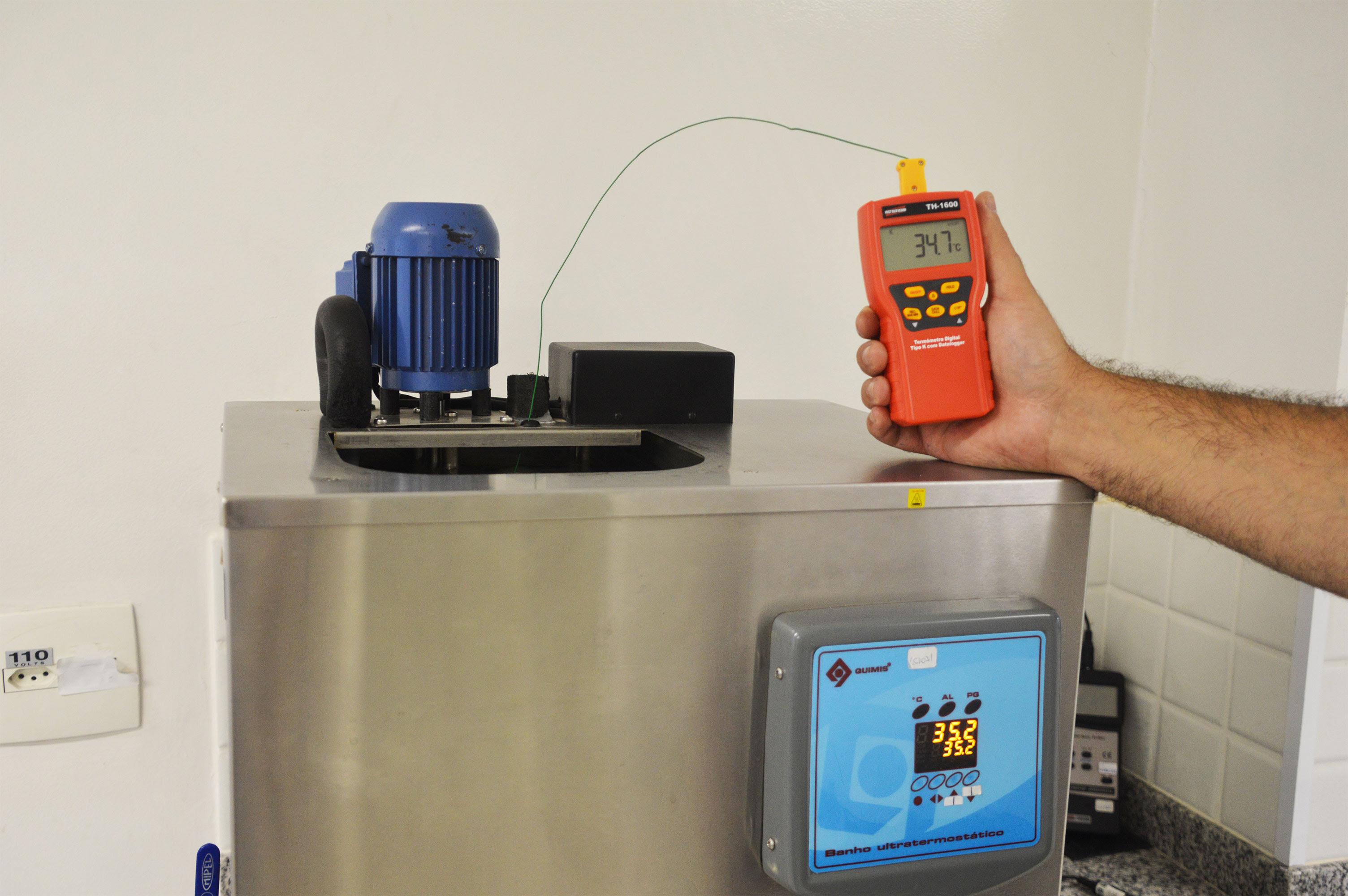 Instrutherm apresenta termômetro tipo-K portátil digital para medição de umidade relativa do ar