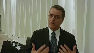 Roberto Azevêdo: Nenhum país se desenvolve sem uma maior inserção internacional