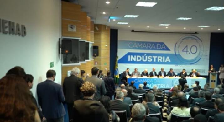 Lançamento da Câmara da Indústria 4.0