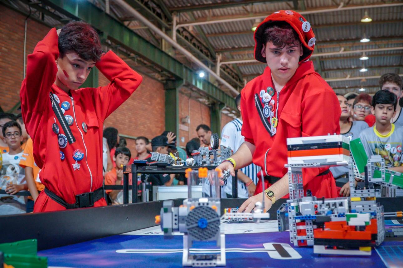 Falta pouco para o Festival SESI de Robótica